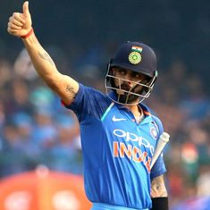 Virat Kohli, Mithali Raj reclaim top spots in latest ICC ODI batting rankings