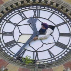 Video: This man makes sure the 129-year-old clock at Mumbai's CST station never misses a beat