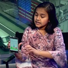 Video: An 11-year-old Indian-American girl just made the simplest device to detect lead in water