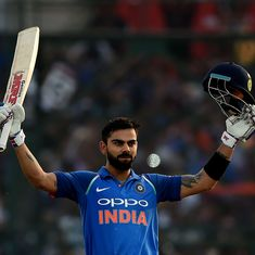 Numbers game: Virat Kohli's 10,000 runs and the many ODI records he broke getting there