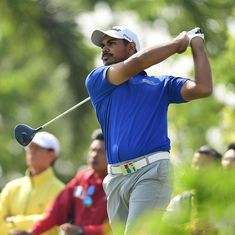Golf: Gaganjeet Bhullar holds one-shot lead in Fiji, Lahiri slips to tied-16th at WGC-Bridgestone