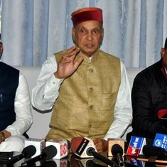 The big news: Prem Kumar Dhumal is BJP's CM candidate for Himachal Pradesh, and 9 other top stories