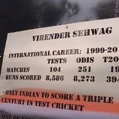 'Virender Sehwag only Indian to score triple ton in Tests': DDCA goofs up, forgets Karun Nair's feat
