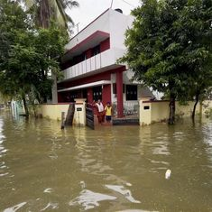 Tamil Nadu: Six dead, schools remain shut as rain continues to lash parts of state