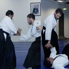 Rahul Gandhi kicks up a storm once again, this time with his #aikido pictures