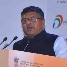 Coronavirus: Avoid 'overzealous' PILs during the pandemic, says Law Minister Ravi Shankar Prasad