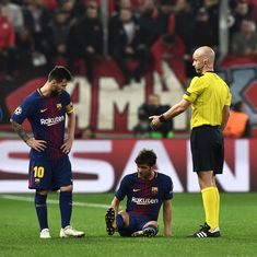 Injury blow for Barcelona as Sergi Roberto and Andre Gomes sidelined for month