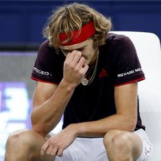 Paris Masters: Zverev knocked out in second round as Pouille, Isner advance