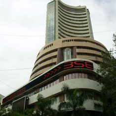 Strong showing by SBI, Tata Motors and Larsen & Toubro push Sensex, Nifty to record highs