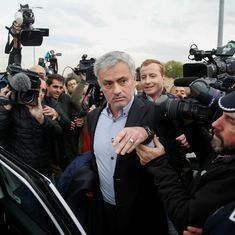 Manchester United boss Jose Mourinho appears in court over tax fraud allegations