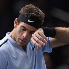 Paris Masters: Isner ends Del Potro's hopes of qualifying for World Tour Finals