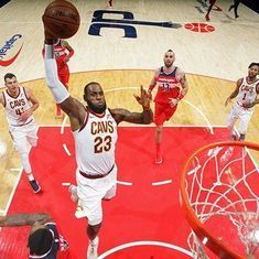 NBA: LeBron James stars with 57 points as Cleveland Cavaliers topple Washington Wizards