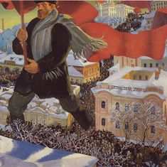 A first-hand account from the streets of St Petersburg as the Russian Revolution swept through it