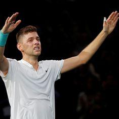 Paris Masters: Qualifier Filip Krajinovic stuns John Isner in thriller to reach final