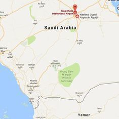 Saudi Arabia brings down ballistic missile fired from Yemen near Riyadh airport