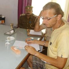 German, who was involved in altercation with railway staff, arrested for travelling on forged visa