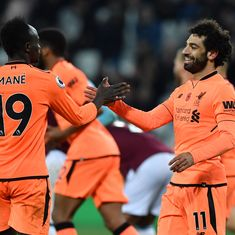 Premier League: Liverpool crush West Ham 4-1, Stoke hold Leicester to 2-2 draw