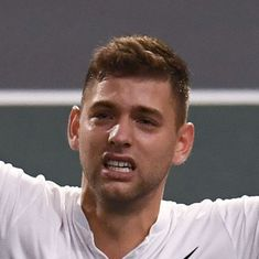 Qualifier Filip Krajinovic tames big serving John Isner to reach Paris Masters final