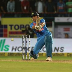 India didn't lose in Rajkot because of Dhoni but it was evidence of his waning T20 powers
