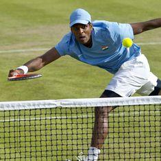 Indian tennis: Young Nitin Sinha upsets Vishnu Vardhan at Fenesta Open