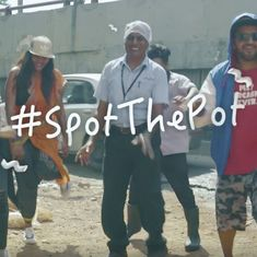 'Spot the pot': Watch a group of Bengaluru youngsters rap their anguish over potholes