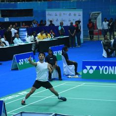 Badminton: Lakshya Sen gives up commanding position to lose in Indonesia Masters quarter-finals