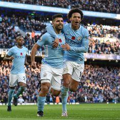 Premier League: Aguero on target as Manchester City sink Arsenal