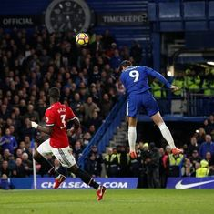 Manchester United's Chelsea jinx continues as Morata powers crucial 1-0 win