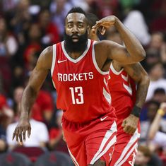 NBA: Houston Rockets ace James Harden crowned MVP for 2018 season