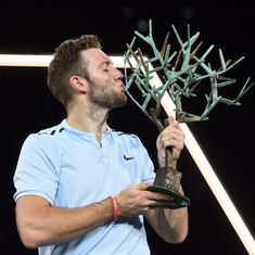 'I was thinking about my holidays': Paris Masters champ Jack Sock shocked to reach World Tour Final