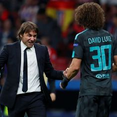 Work hard or sit in the stands: Antonio Conte fires warning to David Luiz