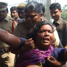 Hyderabad: Dalit woman dies of heart attack during clash with police, say reports