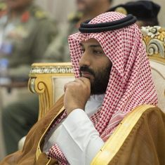 Both Israelis, Palestinians have the right to have their own land, says Saudi Arabian crown prince