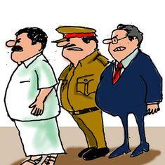कार्टून : करे ऊपर वाला और भरे नीचे 'बाला'!