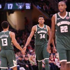 NBA: Antetokounmpo's 40-point effort against Cavaliers goes in vain, Mavericks stun Wizards