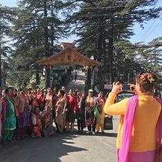 हिमाचल प्रदेश में भाजपा, कांग्रेस से आगे दिखती है तो इसकी सबसे बड़ी वजह नरेंद्र मोदी हैं
