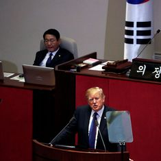 'Do not try us', US President Donald Trump warns North Korea's Kim Jong-Un