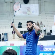 Aided by powerful backhand smashes, Prannoy downs Srikanth to win first Nationals title