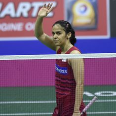 राष्ट्रीय बैडमिंटन टूर्नामेंट के फाइनल में सिंधु पर साइना और श्रीकांत पर प्रणय भारी साबित हुए