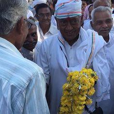 As Digvijaya Singh gains attention with his Narmada yatra, Madhya Pradesh Congress grows anxious