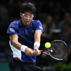 South Korea's Hyeon Chung becomes first semifinalist at Next Gen ATP Finals