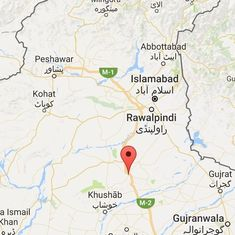 Pakistan: At least 27 people killed after bus falls into ravine in Punjab province