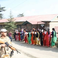 Himachal Pradesh Assembly polls: 74% voting recorded till 5 pm