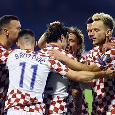 Croatia almost through, Northern Ireland go down due to controversial goal