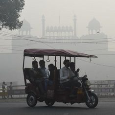 Choking Delhi has not registered a single case against air polluters in the last three years
