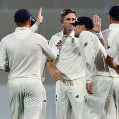 Chris Woakes rescues England after batting collapse against Cricket Australia XI