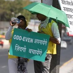 Delhi: Odd-even scheme to return from November 4 to 15