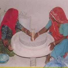 राजस्थान : शिक्षा विभाग का महिला शिक्षकों को सुझाव- फिट रहना है तो चक्की पीसिए!