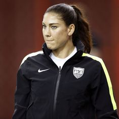 US footballer Hope Solo accuses Sepp Blatter of groping her during 2013 Ballon d'Or