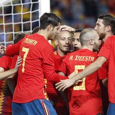 David Silva's brace sets up Spain's 5-0 thrashing of Costa Rica in friendly